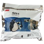 3M 4000 Series Maintenance Free Gas & Vapour Particulate Respirators