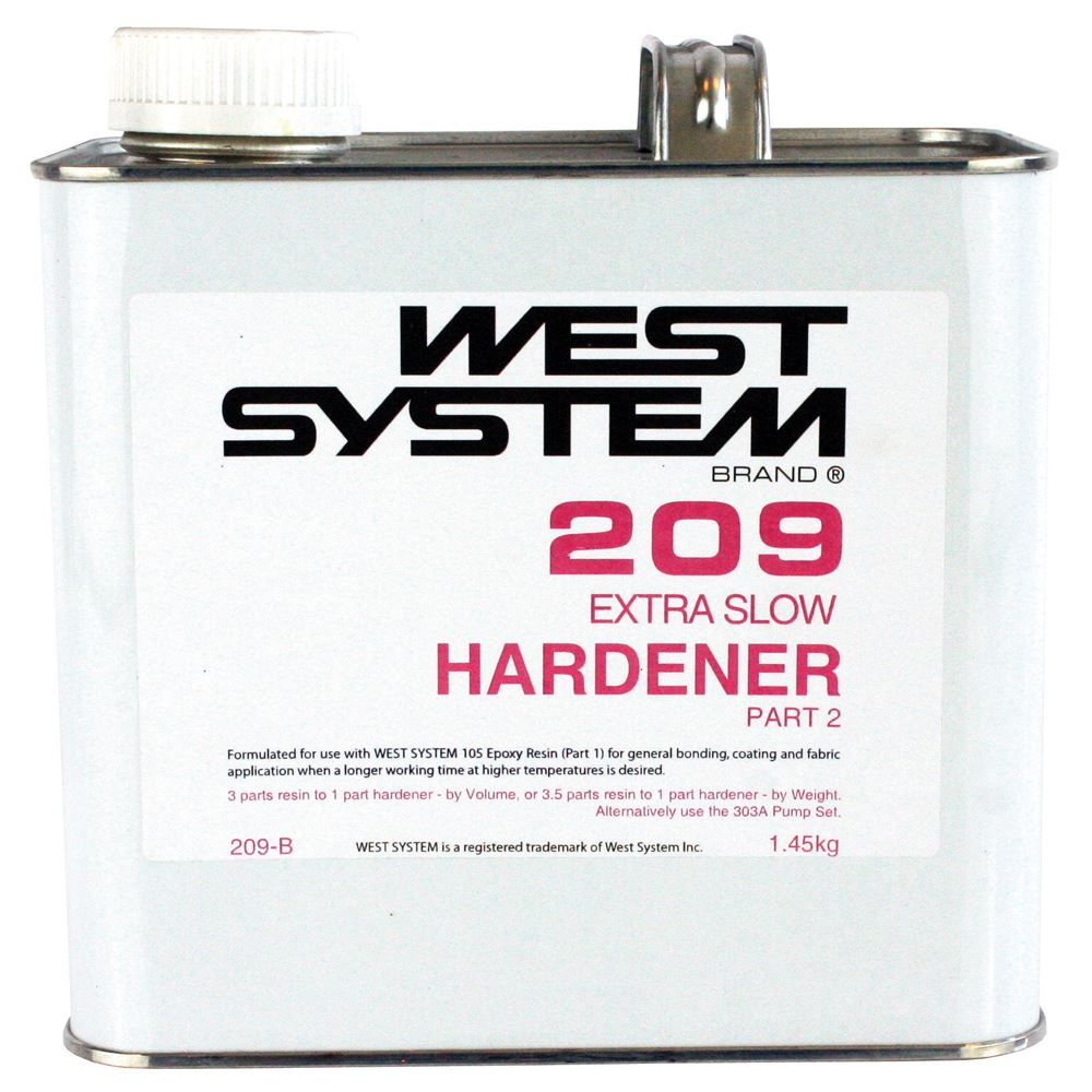 WEST SYSTEM 209 Extra Slow Hardener - Marine And Industrial