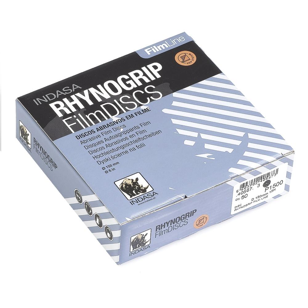 Indasa RhynoGrip FilmLine Solid Film Sanding Discs